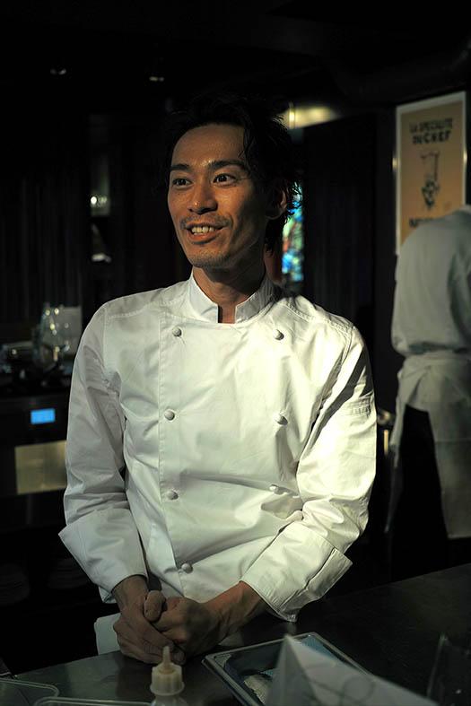 Le chef Hisanobu Shigeta.