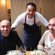 Porte 12 – Scènes culinaires avec les chefs André Chiang et Vincent Crépel autour des frères Pourcel