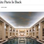 Ritz Paris – La déferlante médiatique de l'ouverture