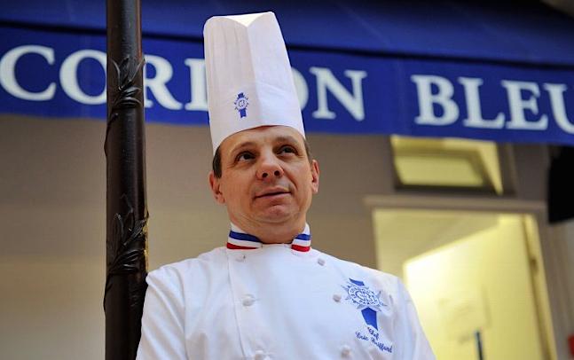 le chef Éric Briffard