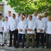 Maîtres Cuisiniers de France et Cl'Hub Chefs D'Oc réunis à Montpellier au restaurant le Mazerand