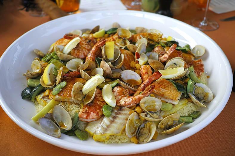 Kasbah Tamadot - couscous 1