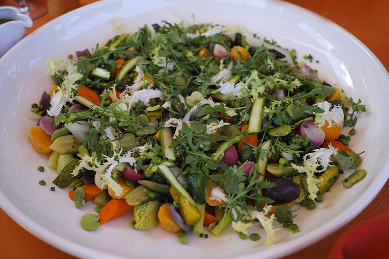Kasbah Tamadot - légumes 1