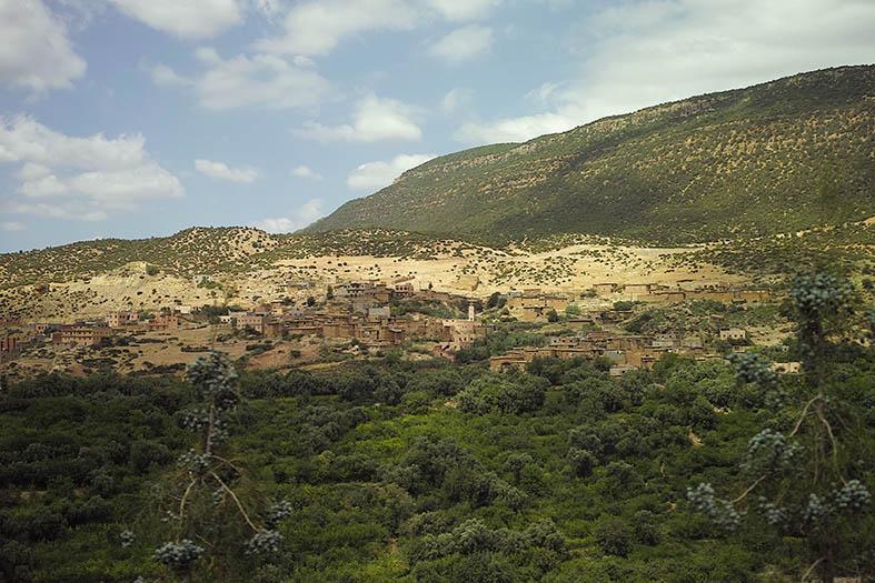Kasbah Tamadot - paysage