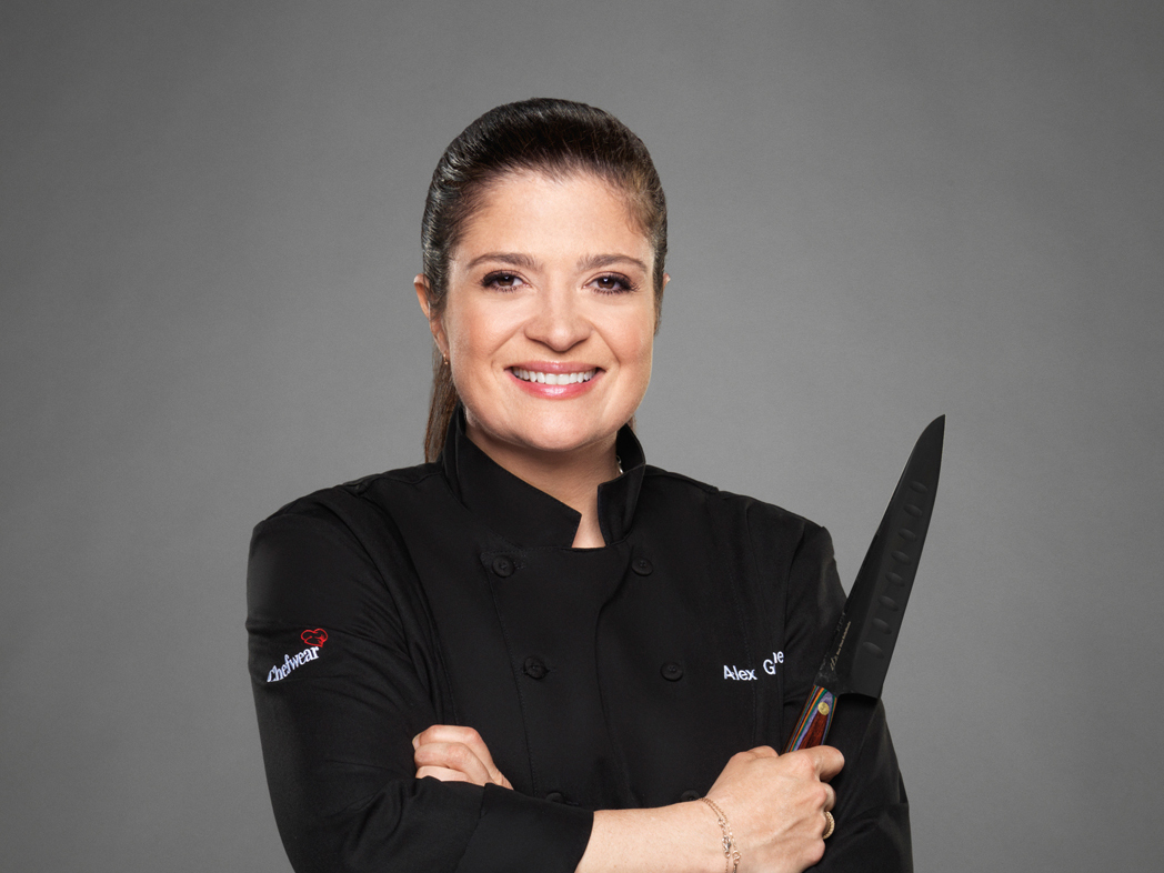 Chef Alex Guarnaschelli as seen on Food Network's, Next Iron Chef Season 5