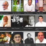 Quel est le chef le plus populaire sur le WEB français en ce début de mois de juillet ?