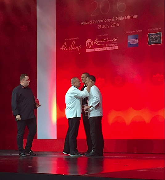 Michelin Singapour 2016