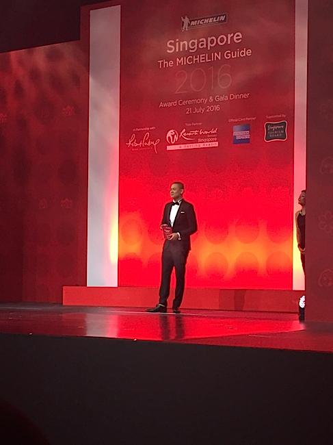 André Chiang Michelin Singapour 2016