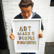 Carré FOOD #6 – Art makes people powerful