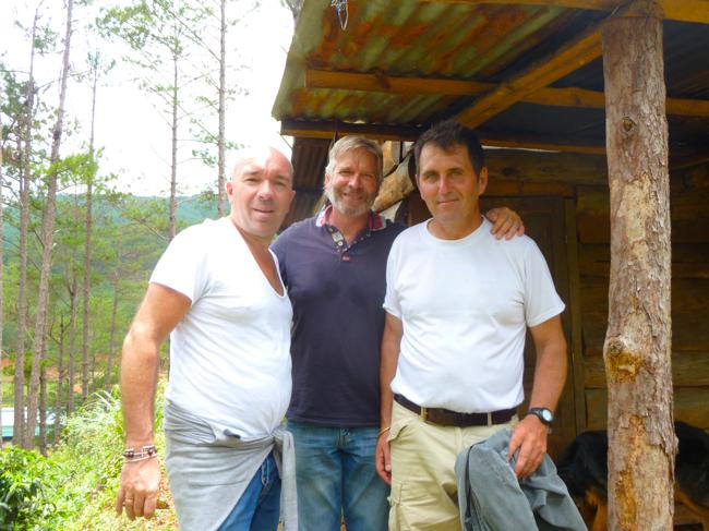 Jacques Pourcel, Pascal Filipi, Pierre Morère