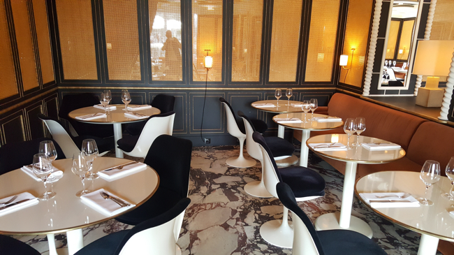 Loulou la table en vue paris cet t un parenth se for Restaurant dans un jardin paris