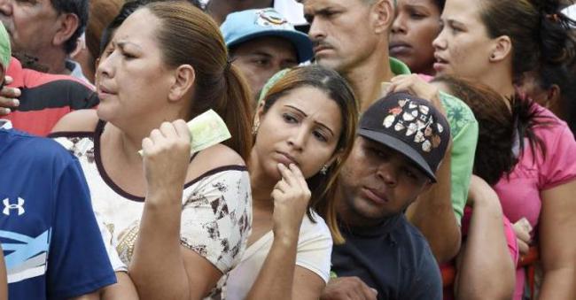 venezuela pénurie alimenaire