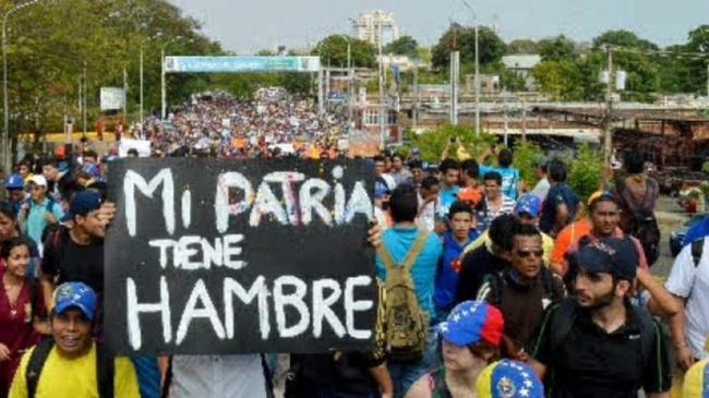 Pénurie Venezuela
