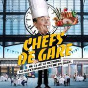 Thierry Marx parrain de l'opération » Chefs de gare «, 19 gares nationales version gastronomiques