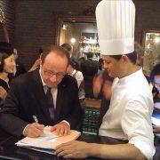 Le chef français Sakal Phoeung reçoit François Hollande à dîner à Ho Chi Minh City