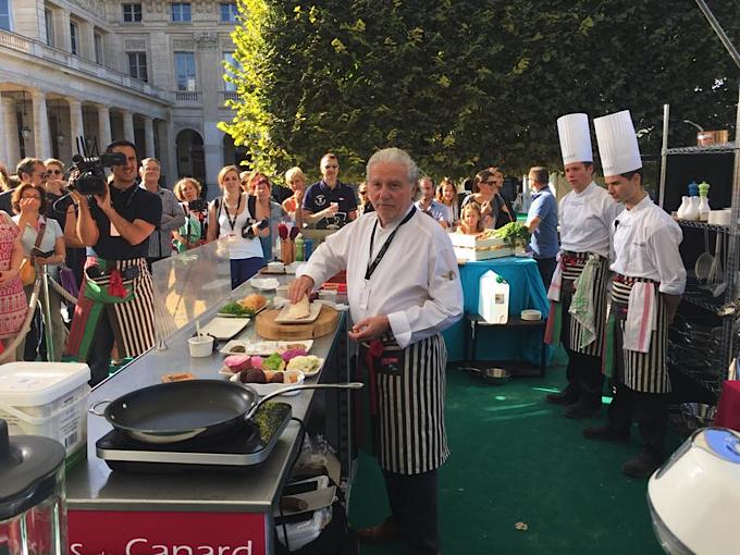 Les grands chefs cuisinent le canard