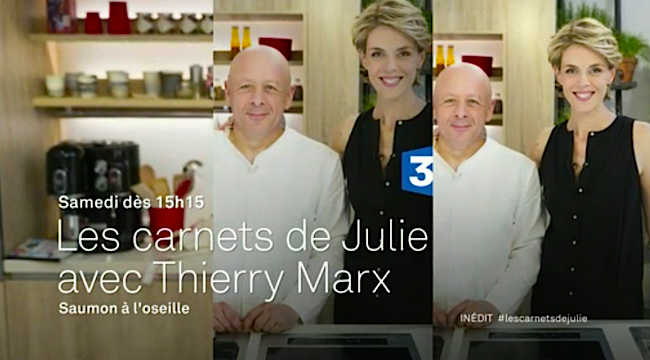 rentr e charg e pour julie andrieu sur france 3 o elle. Black Bedroom Furniture Sets. Home Design Ideas