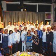 NYC – Le dîner à la mémoire de Roger Vergé s'est déroulé lundi soir, une vingtaine de chefs orchestrés par Daniel Boulud