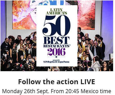 Latin America's 50 Best restaurant 2016