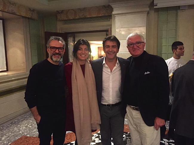 Massimo Bottura, Yannick Alléno, Antonio Santini