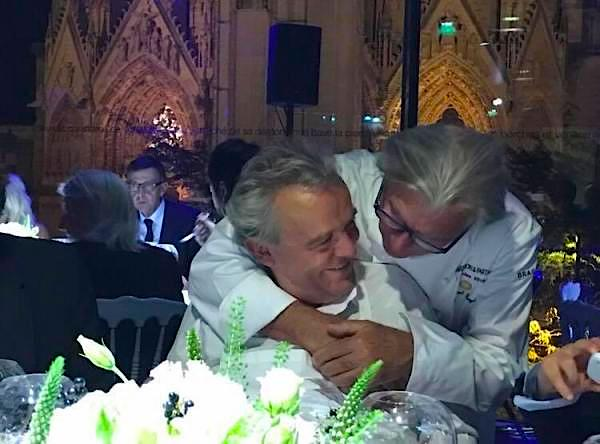Les Chef Alain Passard et Gérard Boyer