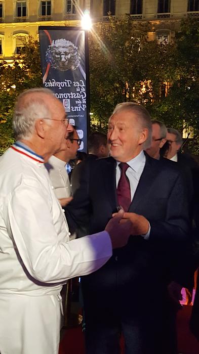 Le traiteur JF Pignol et accueille le chef Pierre Gagnaire
