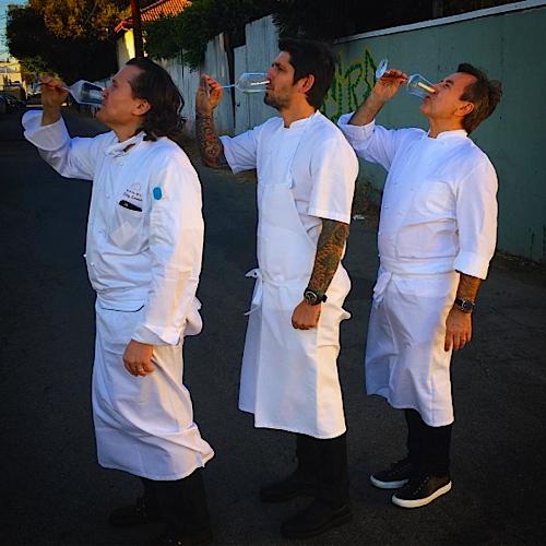 Trois Mecs Ludo Lefebvre