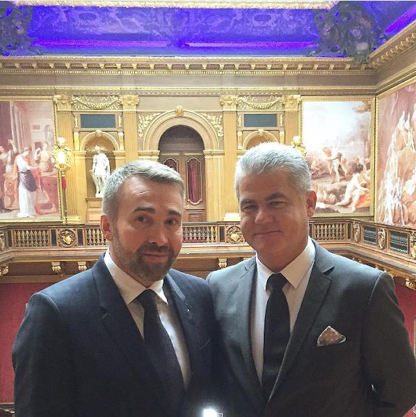 Serge Schaal et Denis Courtiade