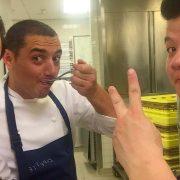 """Le premier """" Showcase Michelin """" a lieu en ce moment à Macao – Guillaume Galliot reçoit Julien Royer – 2 chefs français installés en Asie et ayant obtenu 2 étoiles"""