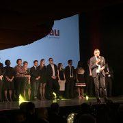 Christian Millau passe officiellement le flambeau à Côme de Chérisey lors de la soirée de lancement du Gault&Millau 2017