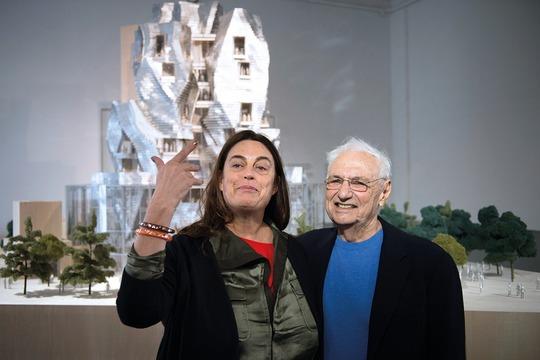 Maja Hoffmann et Franck Ghery