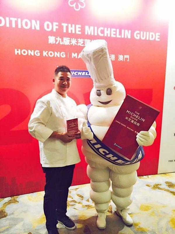 Le chef du restaurant à l'Altira Hôtel à Macao décroche une étoile