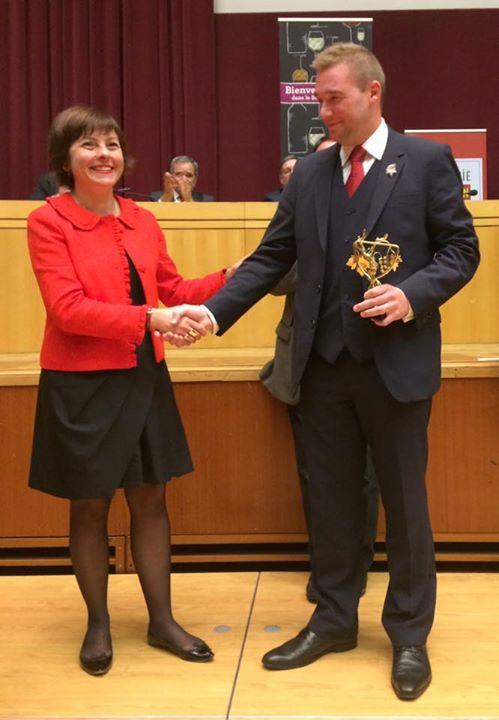 Carole Delga et Gaëtan Bouvier