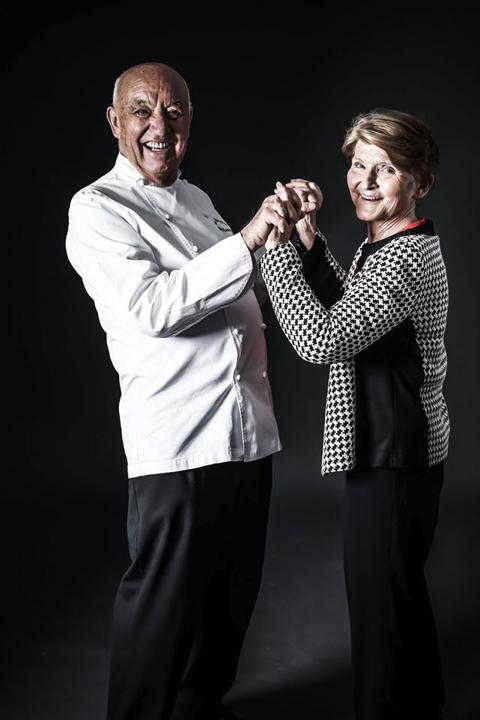 Michel Rochedy et son épouse