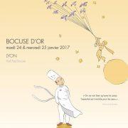 Découvrez l'affiche du chef Laurent Lemal Candidat français au Bocuse d'Or 2017
