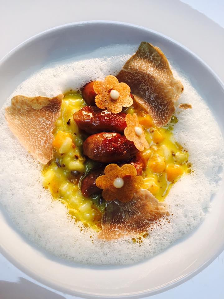 À Paris, le chef Philippe Mille cuisine pour la soirée annuelle \