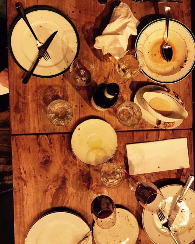 Quand les assiettes sont vides, c'est une chose !