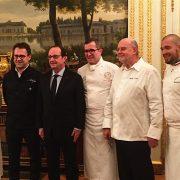 Ce soir le foie gras était la vedette au Palais de L'Élysée