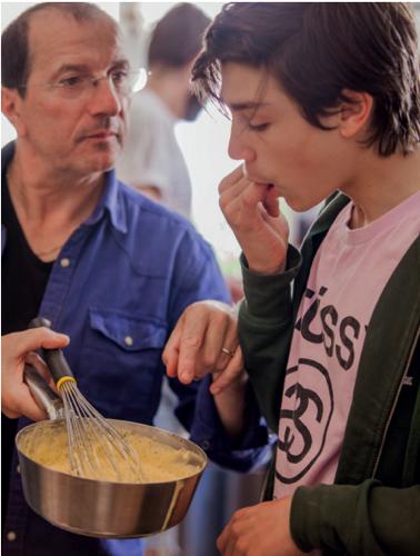 Alain Caron et son Fils Lowel