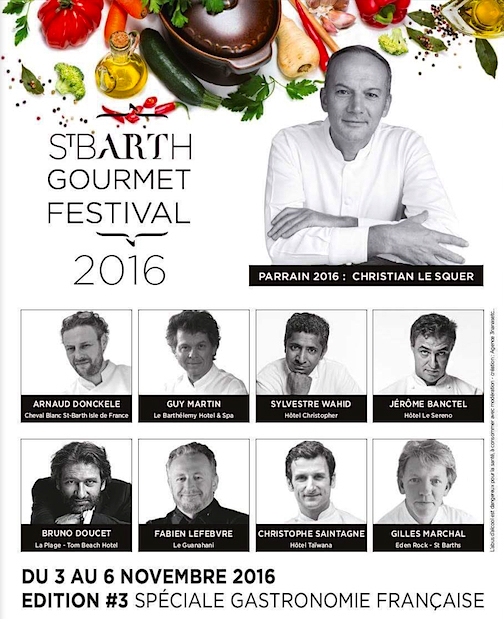 St Barth Gourmet Festival