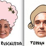 Ferran Adrià, Joan Roca, Carme Ruscalleda, Christian Escriba, se mettent en scène pour la Maison des enfants de Barcelone