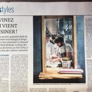 René Redzepi a cuisiné pour un soir à Paris au restaurant Yam'Tcha de la chef Adeline Grattard – récit d'une journée de la rockstar des fourneaux