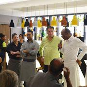 Martinique Chefs Festival – En cuisine les chefs Marcel Ravin et Pascal Favre d'Anne