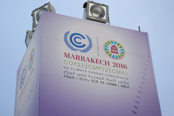 COP22 MARRAKECH 2016