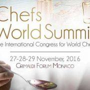 Chefs World Summit démarre aujourd'hui à Monaco – F&S sera sur place