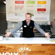 Morgan Spurlock – L'acteur de « Super Size Me » ouvre son Fast Food !…