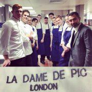 Les équipes de – La Dame de Pic – à Londres entrent en cuisine !