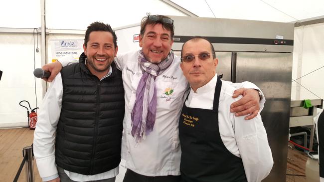 Jean-Baptiste Natali, Fabrice Piguet, Alain caron