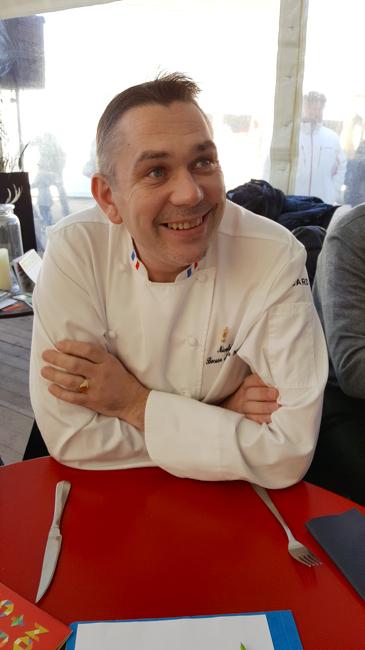 Le chef Nicolas Davouze