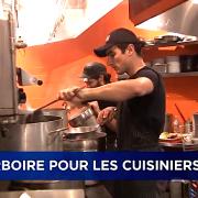 Des pourboires aussi pour les cuisiniers ?… Même à l'étranger la question se pose.